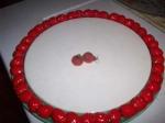 Felt pumpkin earrings-strawberry cake platter