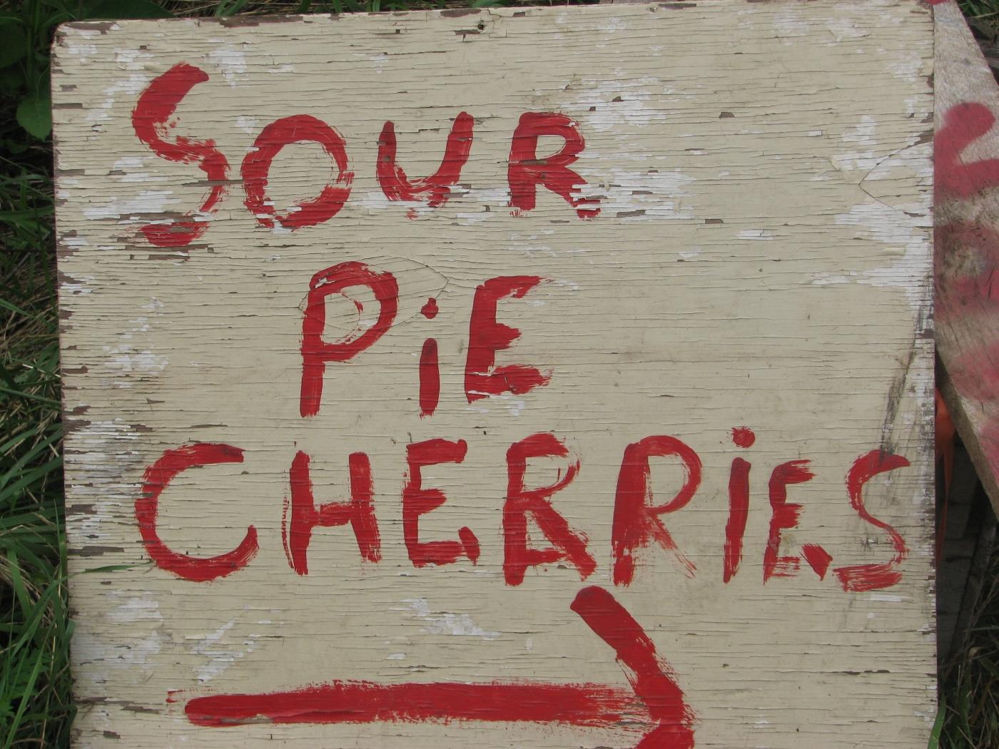 Park 7-sour cherries!!